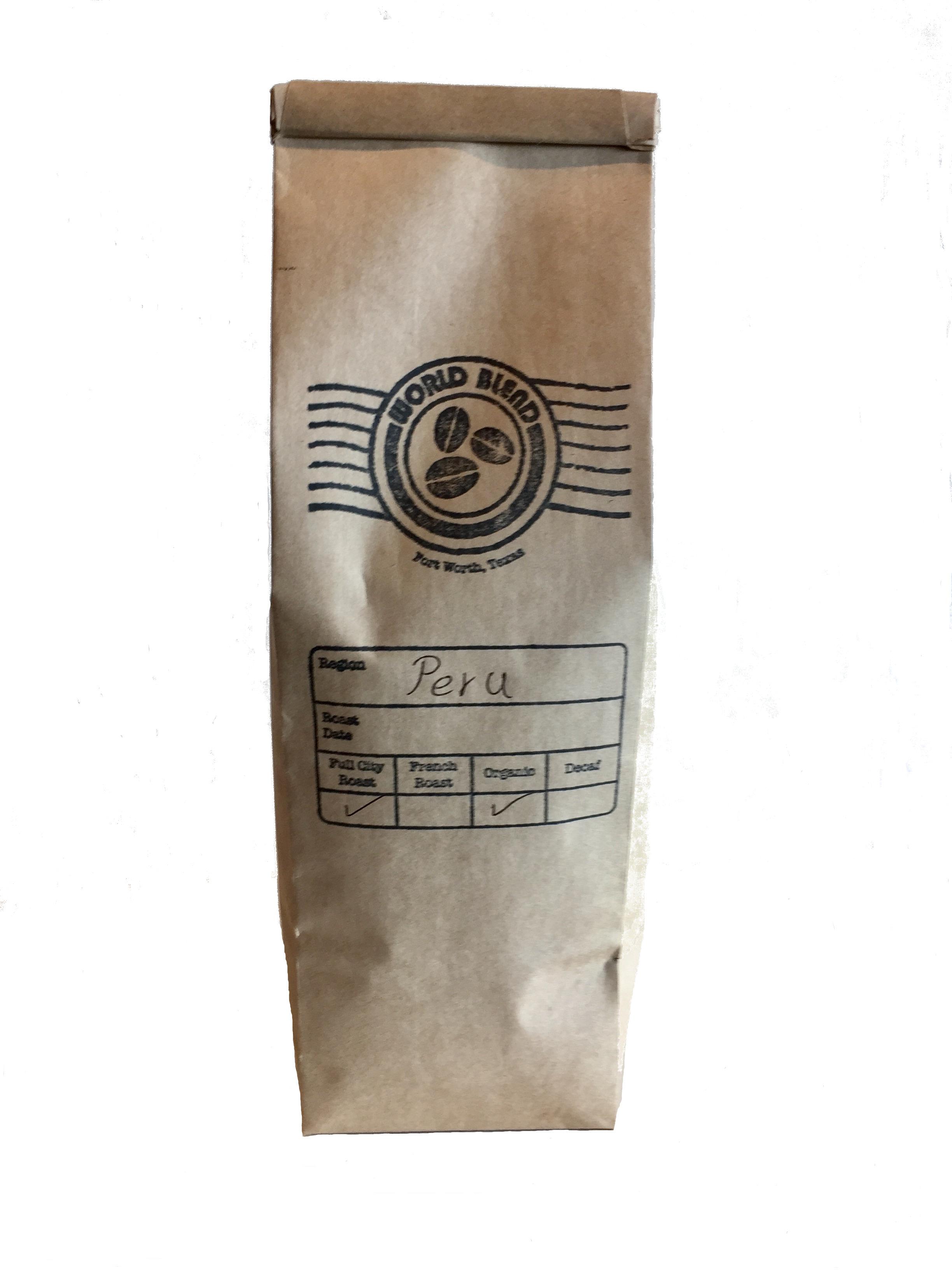 Organic Coffee from Peru!